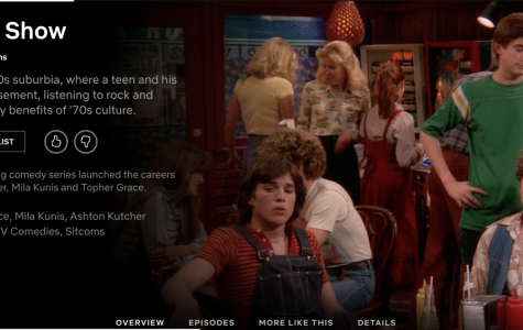 A picture of the rebooted series Gilmore Girls on Netflix that is still on today.