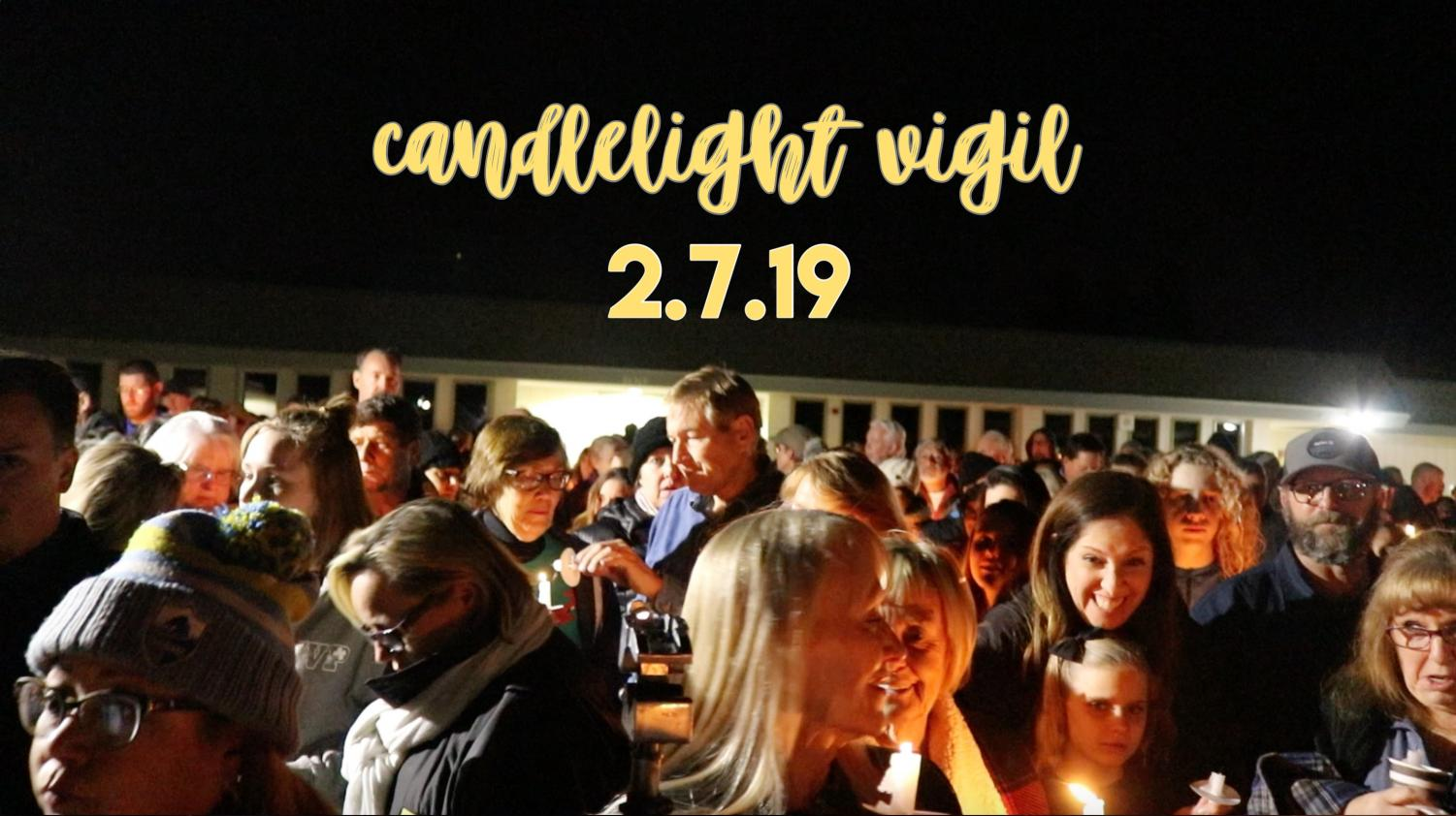 On Febuary 7, 2019 the city of Yorba Linda gathered together to comemorate the random occurance that struck the city days before. Over one hundred residents had shown up to show their support for the victims and families of the plane crash.