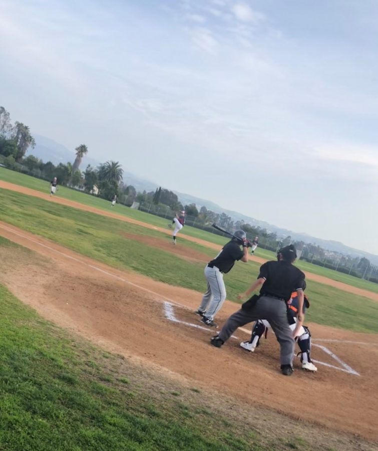 Frosh baseball had won 7-2 against Canyon High School.