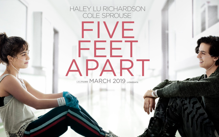 Five Feet Apart is a new movie about cystic fibrosis.
