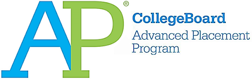 AP program logo.