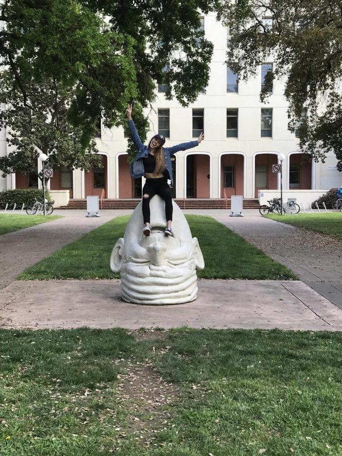 Meredith Meadows, who graduated from YLHS in the spring of 2018, is now a freshman at UC Davis. For her, UC Davis is the perfect campus!
