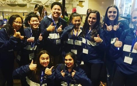 Newspaper and Yearbook students attended the JEA Conference at the Hilton in Anaheim.