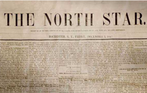 Abolitionist Frederick Douglass created an antislavery newspaper In the pre-civil war era.