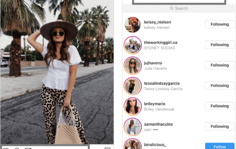 Instagram's new test shows that only the user who made the post will be able to access their like count. (Courtesy of later.com)