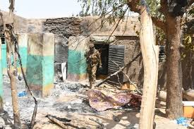 Some of the damage done in the Mali Massacre
