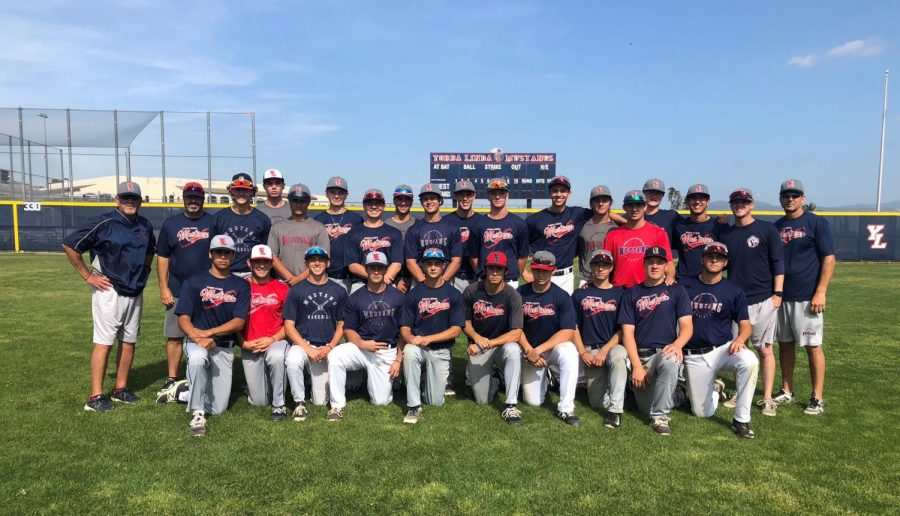 The first Yorba Linda High School varsity baseball team to make it to C.I.F. playoffs. Good luck Mustangs! Special thank you to Jake Del Crognale, Dylan Strong, Matt Williams, Drew Brager, Blake Wink, Luca Licata, Ryan Brech, RJ Vanderhook, Bryce Vogel, Garret Paschal, Nathan Waugh, Mike Monroe, Cole Robinson, Ricky Lane, Cole Smith, Ben Miller, Dean Toigo, Luke Villanueva, Jacob Cochran, Shane Curren, Adam Perry, Brandon Schuetz, Jake Nerio, Sam Mueller, Coach Stine, and Coach Robinson.