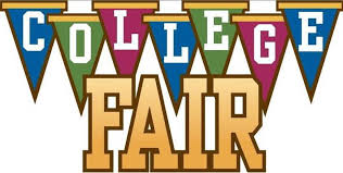 This fair took the students through their options for college.