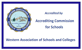 Badge Accredited by WASC(Photo courtesy of ascwasc.org)