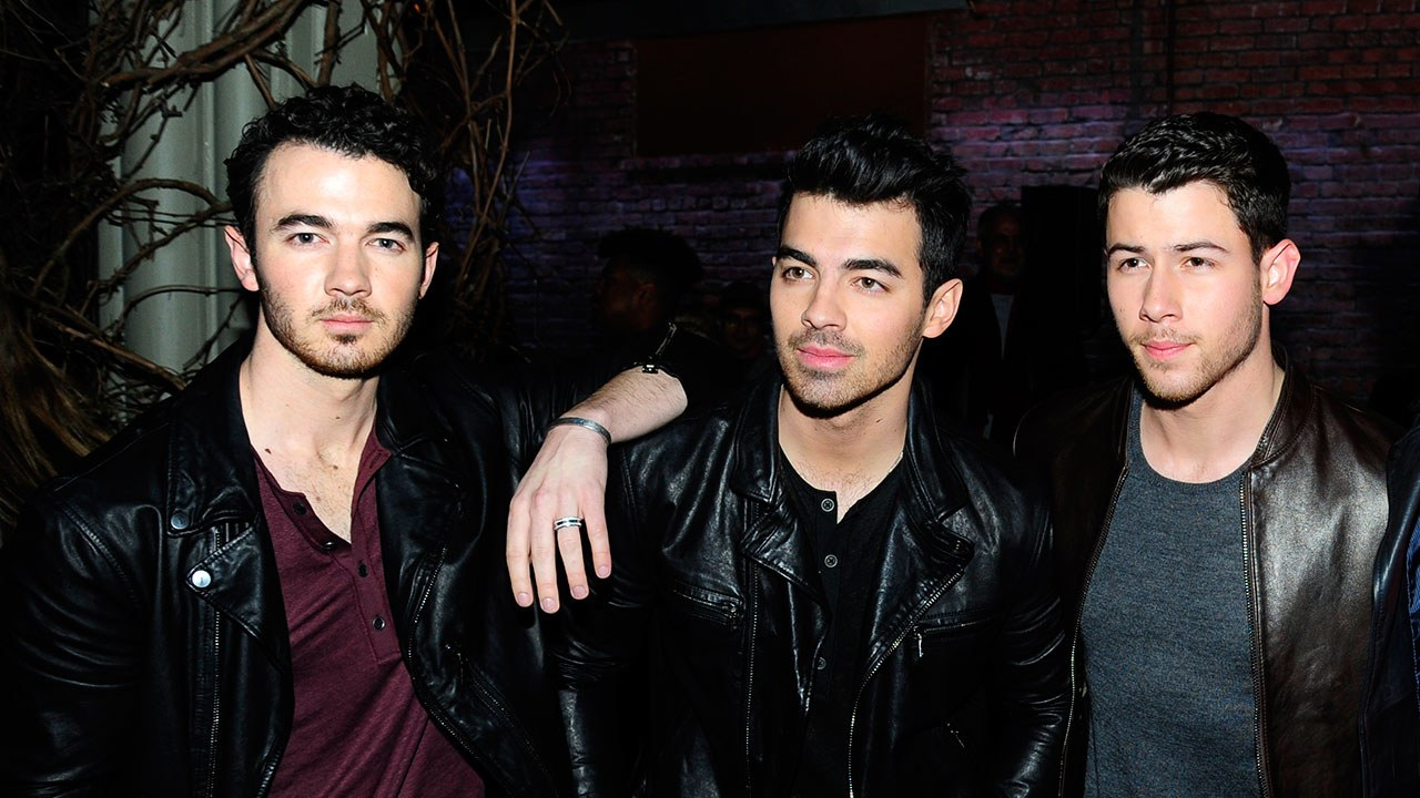 The Jonas Brothers almost 10 years after they broke up.