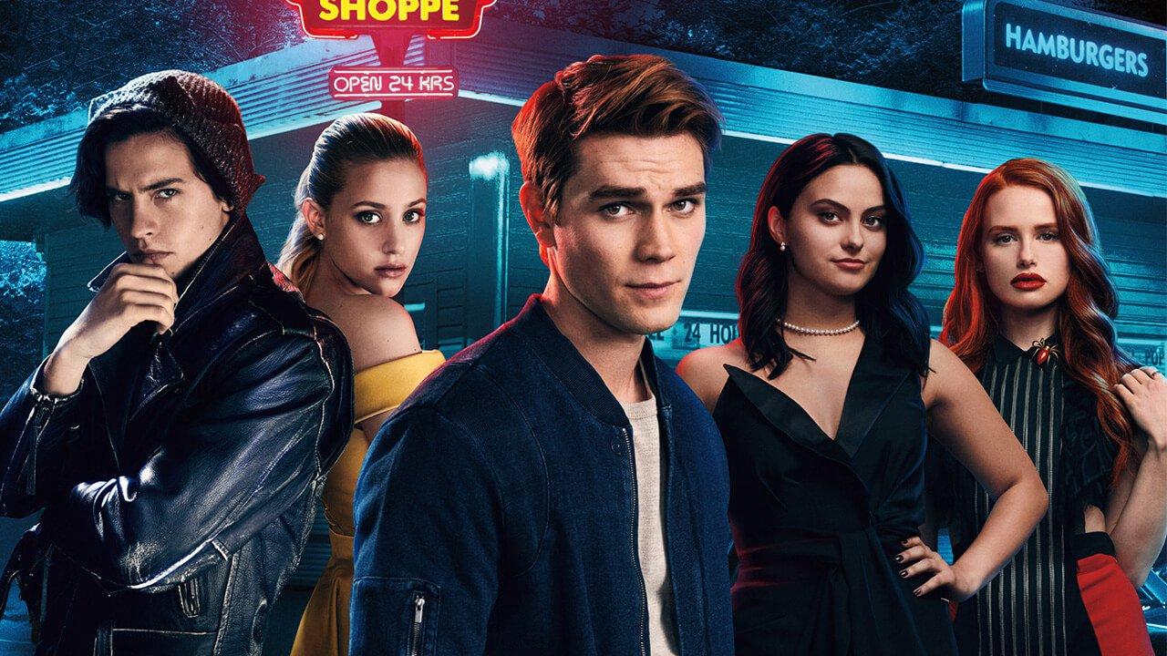 Above, all the characters prepare for yet another long school year at Riverdale High