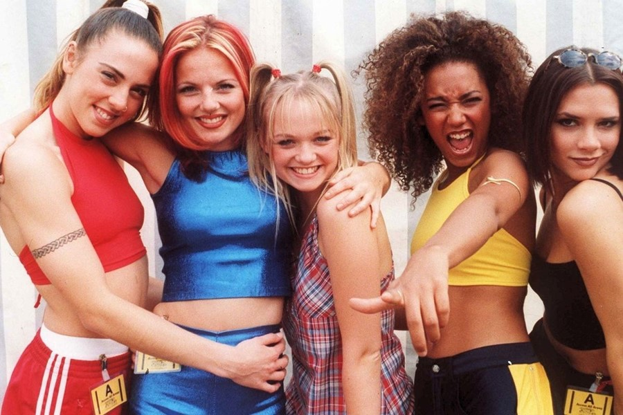 The Spice Girls were iconic supporters of the third wave of the feminist movement.