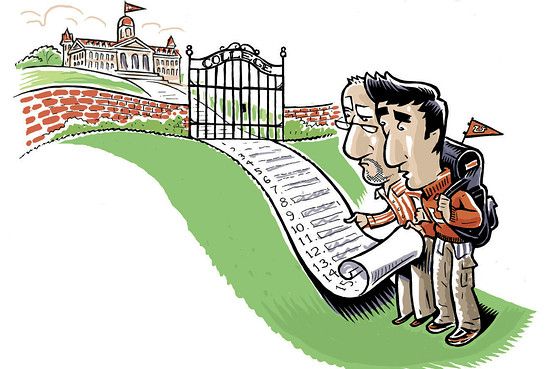 College wait-lists are basically the purgatory of the college admissions process.