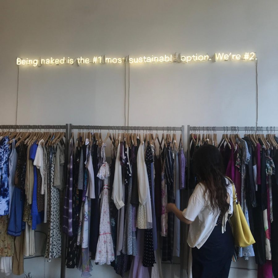 Picture+of+the+Reformation+Vintage+store+in+Los+Angeles%2C+California%2C+one+of+the+many+sustainable+fashion+brands.+