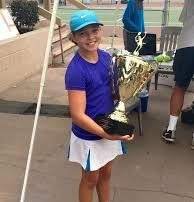Anna Petrescu won the 18th Annual Ramada Labor Day Junior Open Tournament in Claremont, CA when she was 11 years old.
