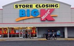 How did Kmart suddenly become unpopular among shoppers?