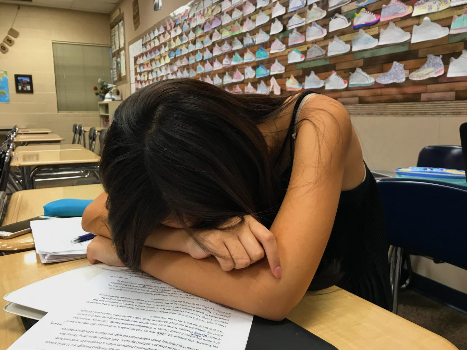Starting this summer, K-8 students can no longer be suspended for sleeping in class.