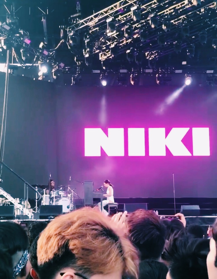Performing at the Head in the Clouds Music Festival, Niki, an artist from 88Rising, is a role model for aspiring Asian musicians all across the world.