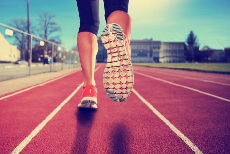 By exercising regularly, one can stay physically fit and avoid obesity.