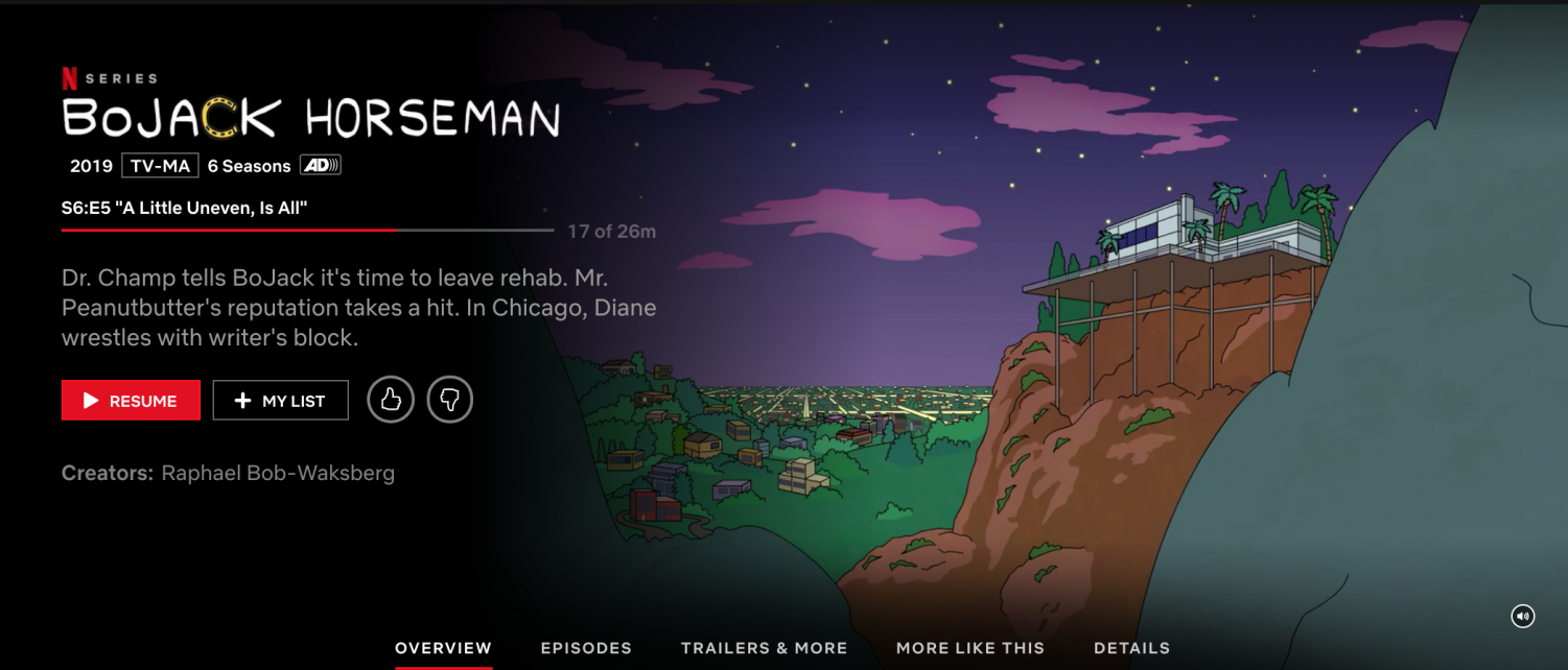 This is a screenshot of the title shown when previewing the show
