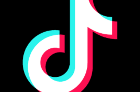 The logo of TikTok, the newest viral social media app.