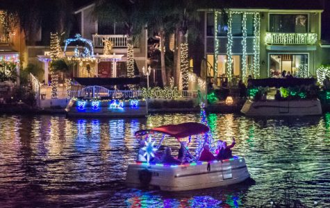 Festive holiday boat show at East Lake Village.