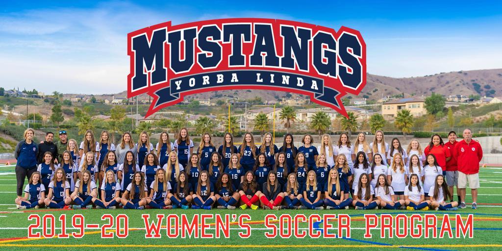 The women's soccer program ready for the upcoming season.