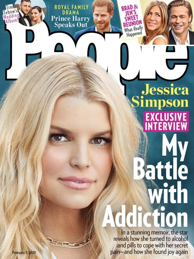 "News of Jessica Simpson's ""Battle with Addiction"" makes it to People Magazine with the release of her memoir, Open Book."