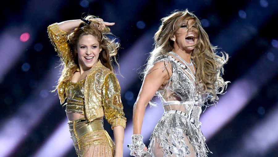 "Shakira (left) and J Lo (right) absolutely made a statement in their halftime performance despite the fact that many felt like they were ""stating"" too much."