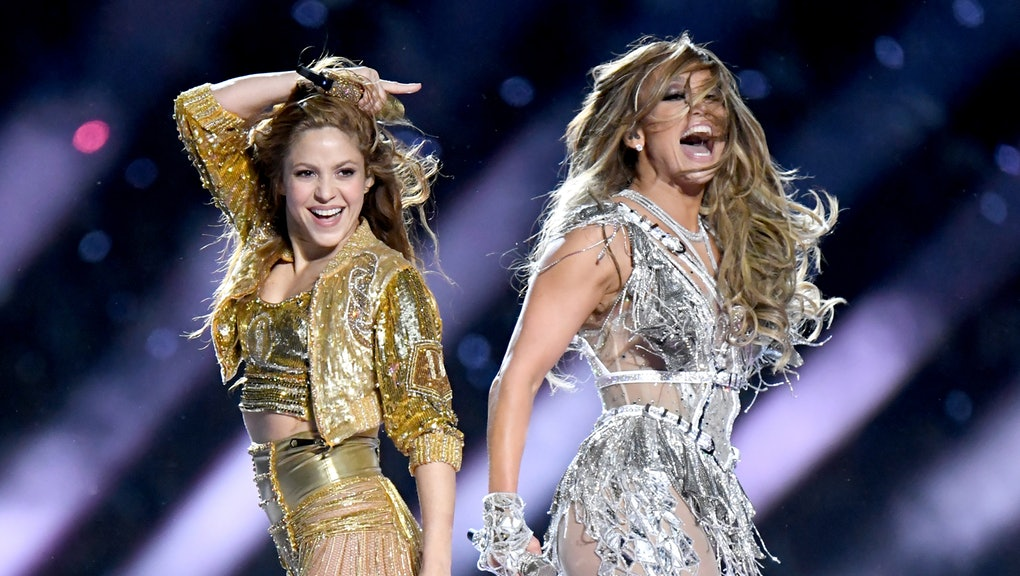 """Shakira (left) and J Lo (right) absolutely made a statement in their halftime performance despite the fact that many felt like they were """"stating"""" too much."""