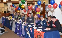 Mustang Athletes Celebrate National Letter of Intent Day