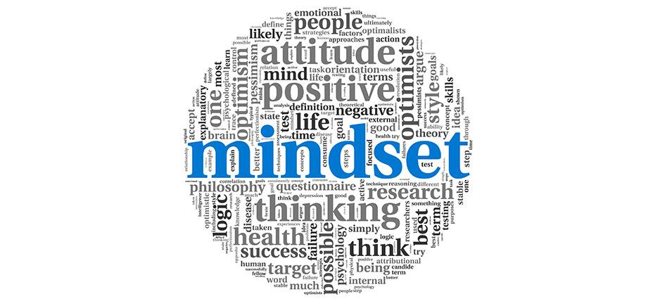 Habits can be broken and formed at different speeds that are determined by an individual's mindset.