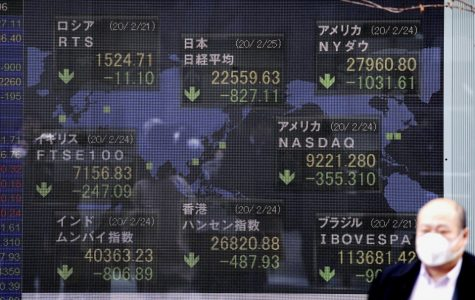 The CoronaVirus has led to a stock market crash.