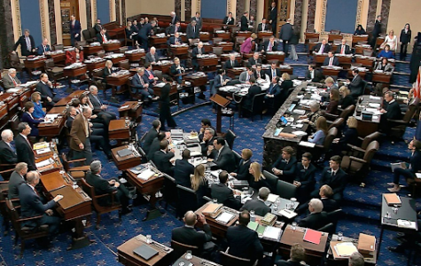 Senators cast their votes on allowing additional evidence and testimonies into the impeachment trial of Mr. Donald J. Trump.