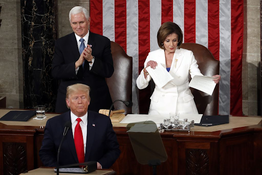 In the eventful State of the Union Address, President Trump and Speaker Pelosi find ways to snub each other.