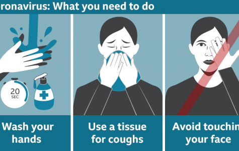 BBC released an image to illustrate the best ways of protecting oneself from the Coronavirus. Nowhere does it stipulate to avoid contact with specific ethnic groups.