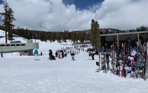 Pictured here is the Canyon Lodge at Mammoth Mountain in California.