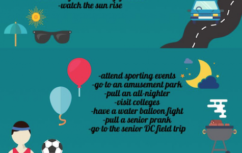 High school bucket List ideas for seniors