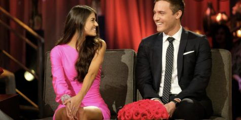 Madison Prewett and Peter Weber sitting next to each at The Bachelor.