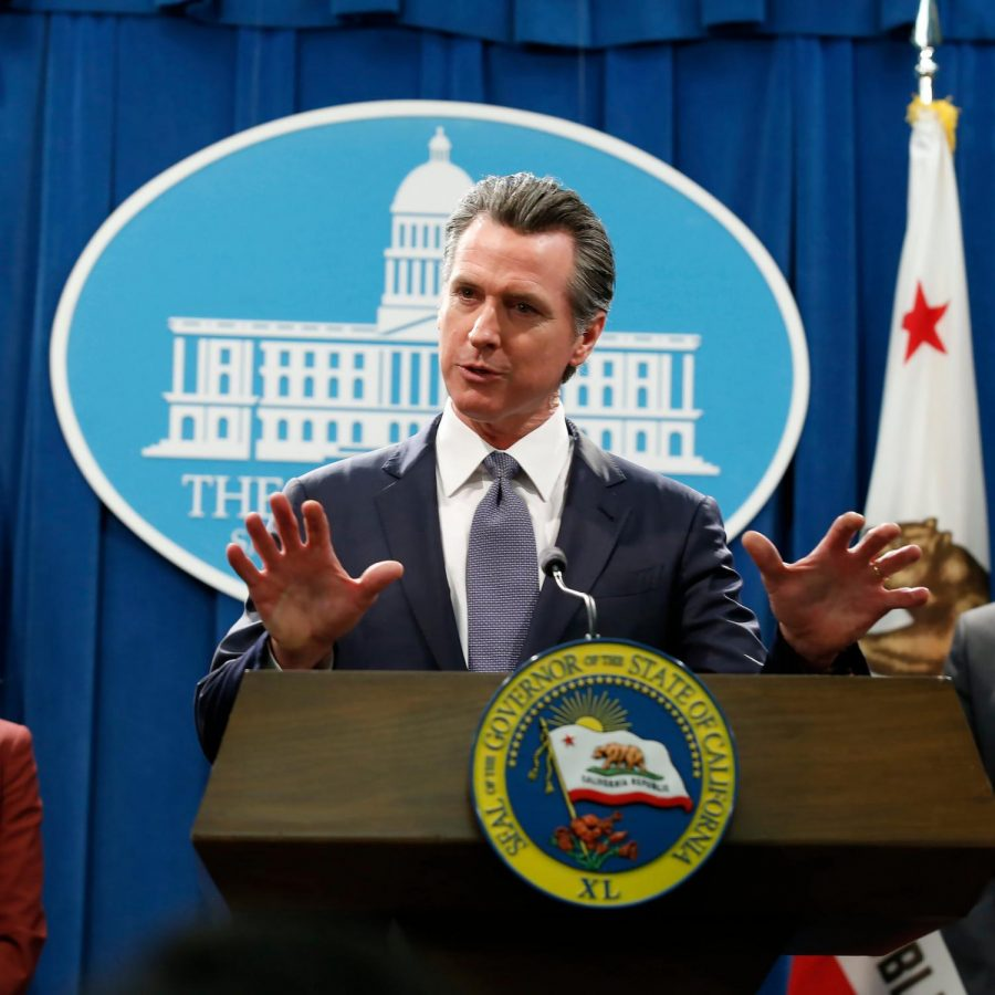 "When Governor Gavin Newsom ordered Californians to remain at home, New York Times describes it as the ""most drastic measure"" of any state governor to suppress the Coronavirus."