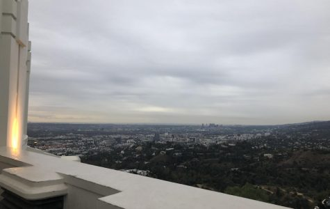 A picture of a view from the Griffith Observatory taken before the pandemic to show the beautiful view waiting for people to see after the world is healthy and safe again.