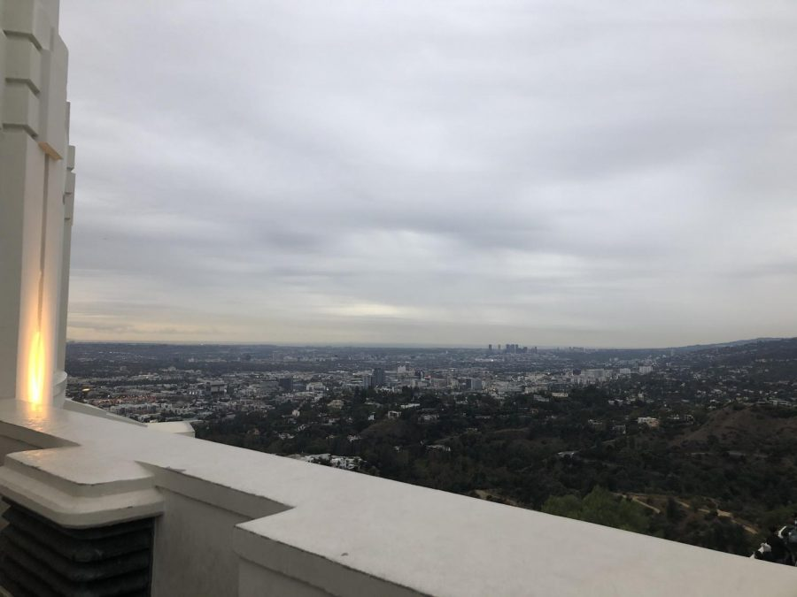 A+picture+of+a+view+from+the+Griffith+Observatory+taken+before+the+pandemic+to+show+the+beautiful+view+waiting+for+people+to+see+after+the+world+is+healthy+and+safe+again.+