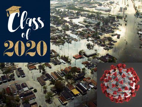 The class of 2020 seniors are facing experiences that many high school senior Hurricane Katrina survivors dealt with.