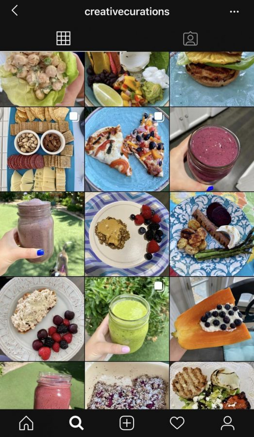 Recent graduate Alexa Rome shares her new health based Instagram, creativecurations, in order to inspire others to pursue a nutritious lifestyle.