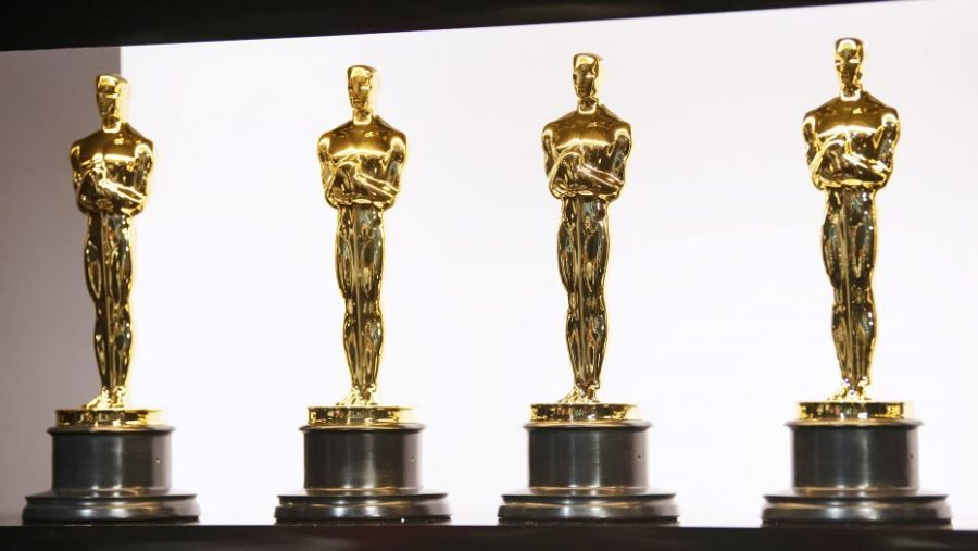 The+Oscar+awards+that+the+winners+of+the+Oscars+get+during+the+ceremonies.
