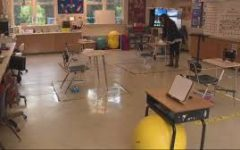 This classroom has been altered to fit the district guidelines.
