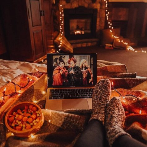 Enjoy streaming and watching Halloween movies in the comfort of your own home.