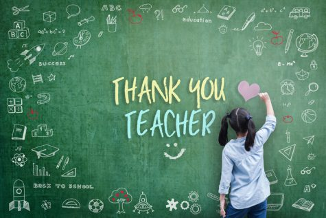 Teachers are so much more than a person who teaches; they are a support system for kids. Teachers help kids believe in themselves when no one else does.