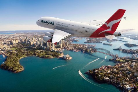 Qantas takes passengers on scenic flights over sites in Australia such as Sydney, only to be taken back to where the flight began.
