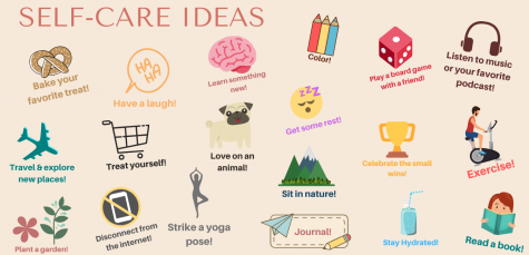 With many unprecedented and uncertain events happening in 2020, students should find ways to incorporate self-care into their lives to improve their overall well-being.